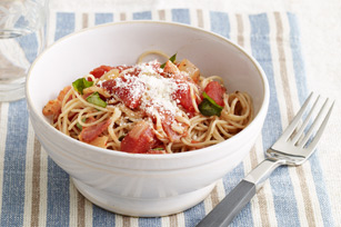 Tomato-Basil Angel Hair Pasta Image 1