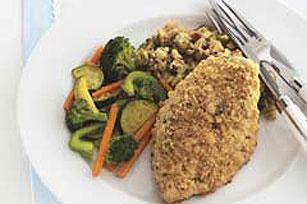 Crujiente pollo con vegetales Image 1