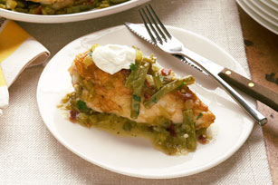 Nopales Chicken in Green Salsa Image 1