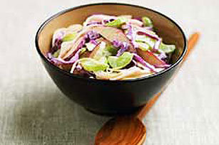 Sweet & Savory Apple-Honey Coleslaw Image 1