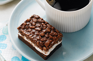 Nutty Chocolate Mallow Bars