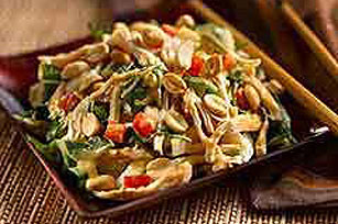 Nutty Asian Salad Image 1