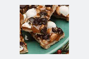 Nutty Caramel Chip Bars Image 1