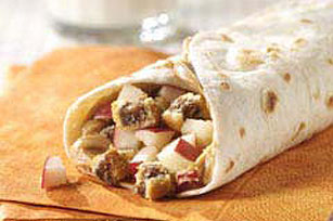 Nutty Fig & Apple Roll-Up
