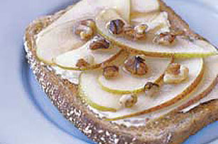 Nutty Pear Toast Image 1