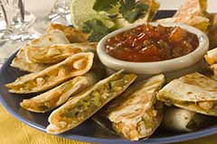 Nutty Quesadillas