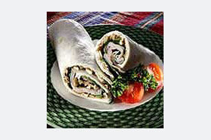 Nutty Turkey Wrap Sandwiches Image 1