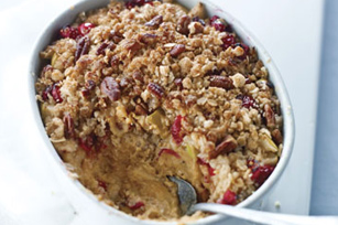 Oat-Topped Sweet Potato Crisp Image 1