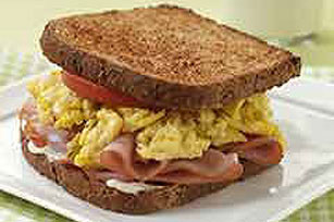 Oh-So-Easy Egg Salad & Ham Sandwiches Image 1