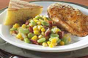 Old-Fashioned Succotash Image 1