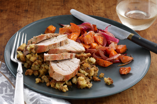 One-Pan Roasted Pork Supper Image 1