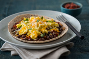 Open-Face Huevos Rancheros