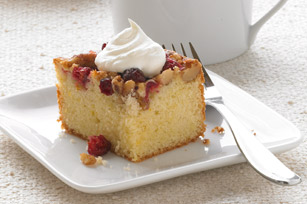 Orange-Cranberry Walnut Cake
