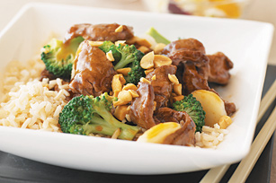 Orange-Ginger Beef Stir-Fry