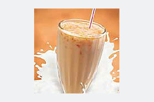 Orange  Mandarin Madness Milk Shake Image 1