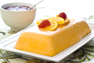 Orange-Raspberry Terrine