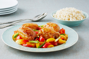 Orange-Sesame Chicken