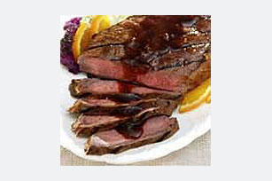 Orange-Glazed Steak Image 1