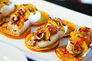 Orange, Bacon & Olive Fish Fillets Image 1