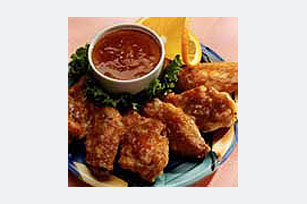 Orange Dijon Chicken Wings Image 1