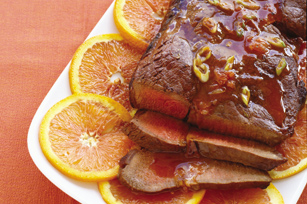 Orange Pepper Steak Image 1