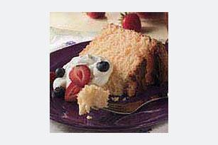 Orangey Angel Cake Image 1