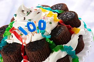 OREO Birthday Cupcake Cake