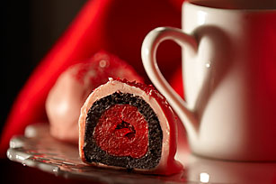 OREO-Cherry Cookie Balls