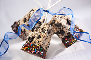 Cookies & Cream Crispy Treats