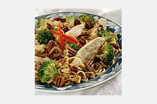 Chicken and Ramen Noodles Bowl Image 1