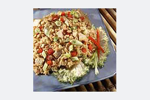 Rice Salad and Asian Chicken Recipe