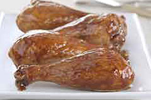 Oven-Barbecued Turkey Legs Image 1