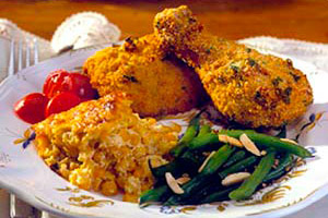 oven-roasted-chicken-spicy-cornmeal-crust-148092 Image 1