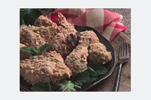 "Crunchy Parmesan Baked ""Fried"" Chicken Image 1"