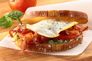 Over-Easy BLT