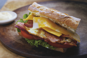 Over-Easy Cheesy BLT Image 1