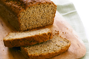 Peanut Butter & Banana Quick Bread