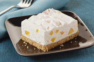 PHILADELPHIA No-Bake Peach Cheesecake Image 1