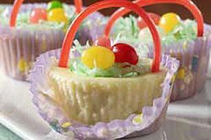 Philadelphia 3 Step Mini Cheesecake Baskets Receta