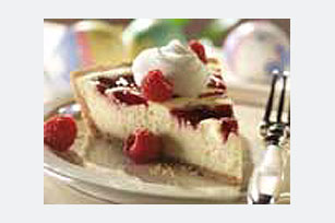 PHILADELPHIA® 3-STEP® Raspberry Swirl Cheesecake Image 1