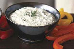 PHILADELPHIA® Cucumber Dip with Herbs Image 1