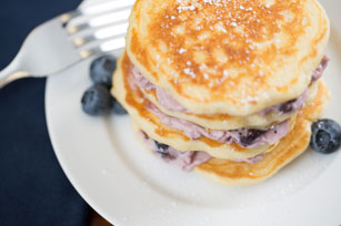 pancakes-blueberry-cream-cheese-spread-162740 Image 1