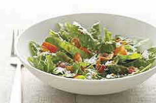 Parmesan-Bacon Spinach Salad Image 1