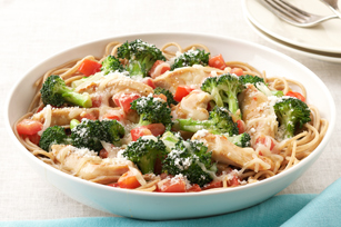 Parmesan, Chicken & Broccoli Pasta for Two Recipe - Kraft Recipes