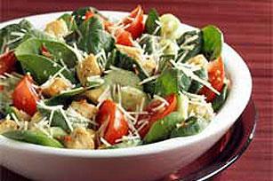 Parmesan Spinach Salad Image 1