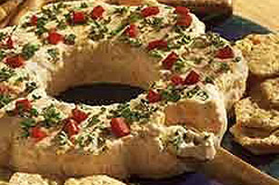 Party Cheese Wreath Image 1