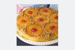 Pastel invertido de piña y coco Image 1