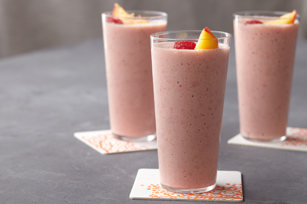 Peach Melba Smoothie