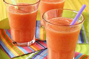 Peach Summer Slushies