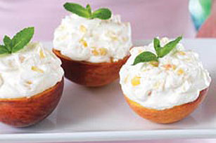 Peaches 'n Cream Cups Image 1
